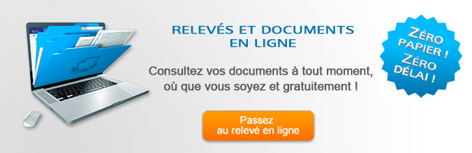Relevés et documents en ligne